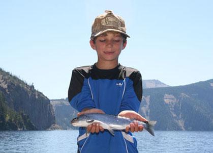 Crater Lake Fising