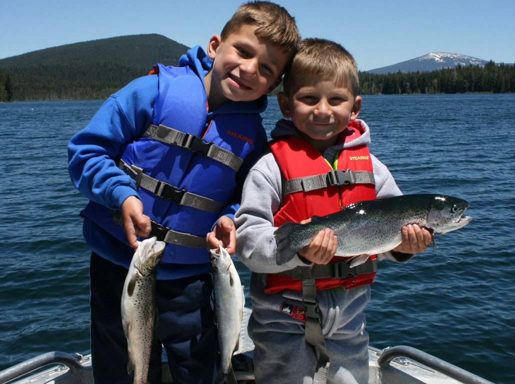 Oregon Family Fishing Trips